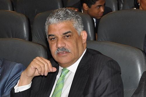 Ministro de Relaciones Exteriores, Miguel Vargas Maldonado.