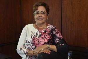 Milagros de los Santos, presidente del Consejo de Administración de General de Seguros.