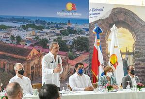 Turismo firma acuerdo interinstitucional para ejecución del Programa Integral de Desarrollo Turístico y Urbano de la Ciudad Colonial de Santo Domingo.