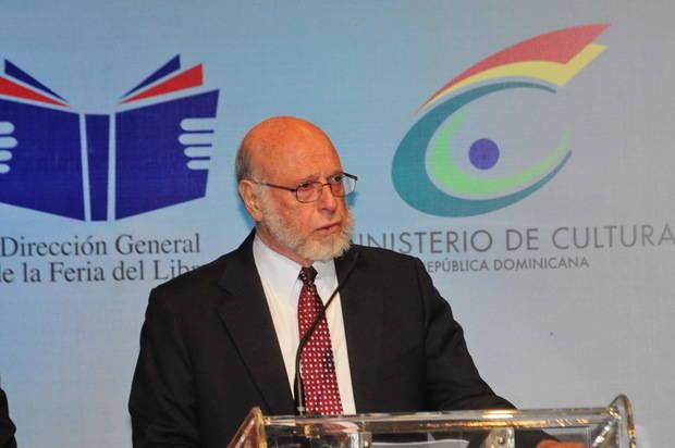 Pedro Vergés, ministro de Cultura.