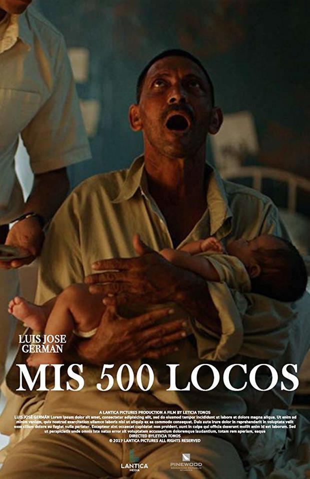 Afiche de la película ' Mis 500 locos'.