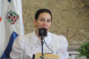 Presidenta del Clúster Turístico de Santo Domingo, Mónica Infante.