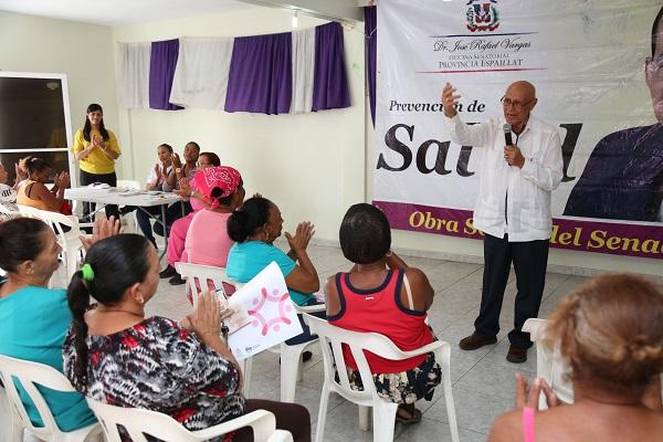 Mujeres de Monte Cristi, Espaillat y Puerto Plata optan por prevenir el cáncer en mama