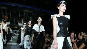 Arranca la Buenos Aires Fashion Week con su desfile más 'rockero'
