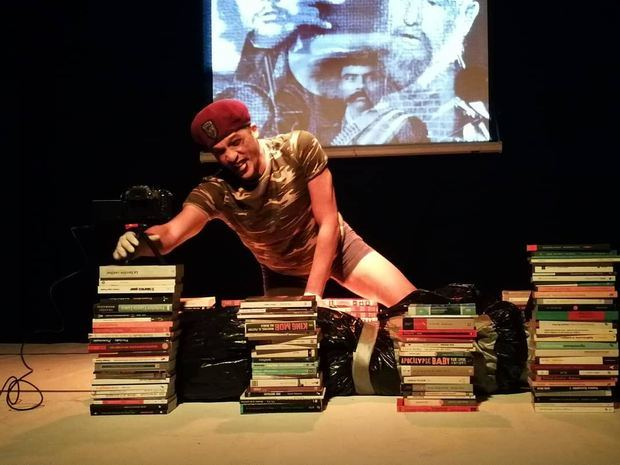 Actor y escritor dominicano presentará monólogo en Feria del Libro de Madrid