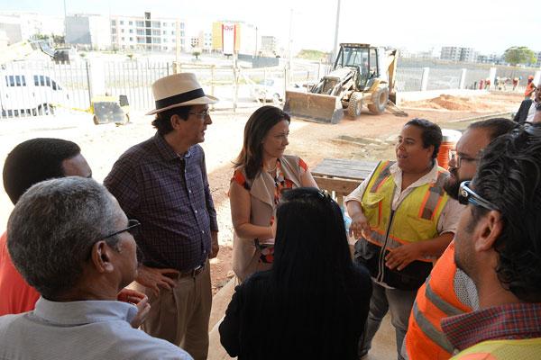 Aseguran que se mantienen avances en Ciudad Juan Bosch