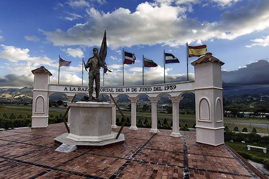 Monumento a los expedicionarios del 14 de junio.