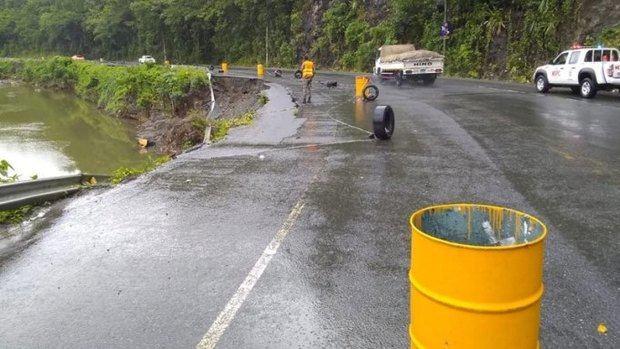 La tormenta Laura descarga fuertes lluvias en la República Dominicana