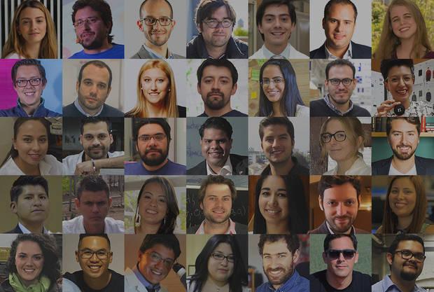 Ganadores Innovadores Menores de 35.