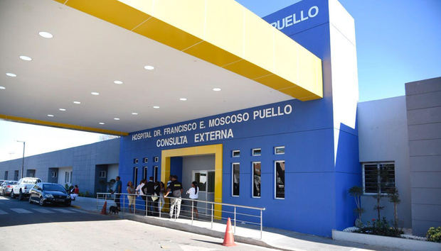 Hospital doctor Francisco Moscoso Puello.