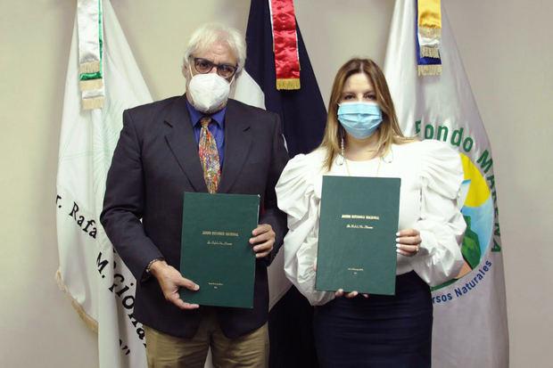 Firma de acuerdo de colaboración interinstitucional entre Fondo Marena y Jardín Botánico Nacional