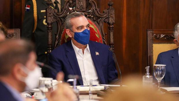 Presidente Luis Abinader encabeza Consejo de Gobierno en el Palacio Nacional
