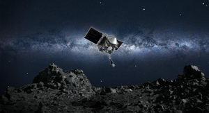 Sonda de la NASA recogió muestras suficientes del asteroide Bennu.