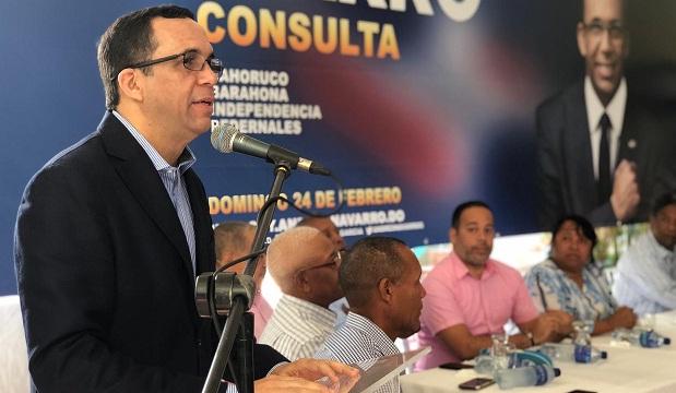 """Andrés Navarro asegura que en 2020 encabezará el """"Gobierno del territorio"""""""