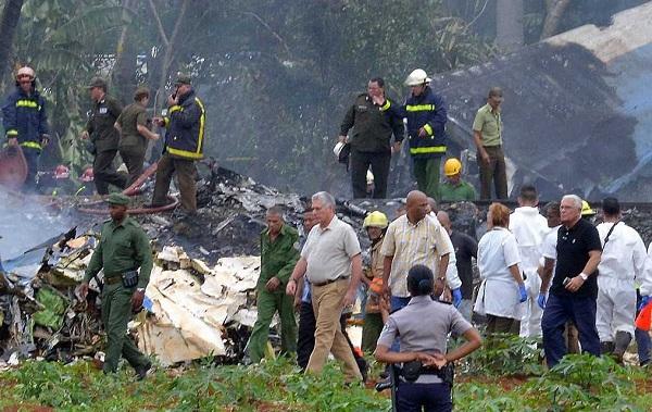 El IDAC envía mensaje solidario a Cuba tras accidente aéreo