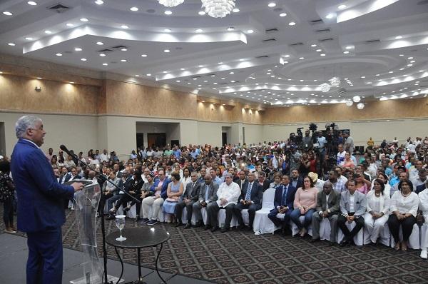 Miguel Vargas asegura PRD consolida su crecimiento y unidad