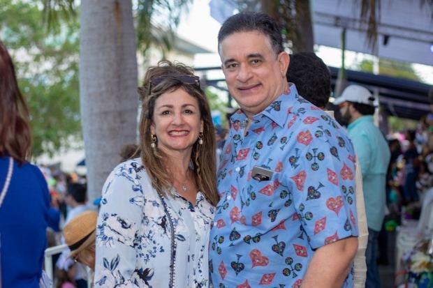Nancy Báez y Fernando Báez