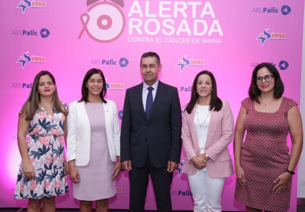 Natacha Quiterio, Berenice Méndez, Jaime Herrera, Doris Alburquerque y Tamara Navarro.