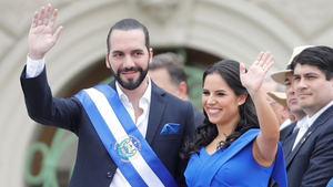 El nuevo presidente de El Salvador Nayib Bukele.