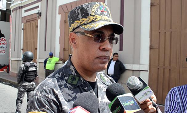 Subdirector de la Policía Nacional, Neivi Luis Pérez Sánchez.