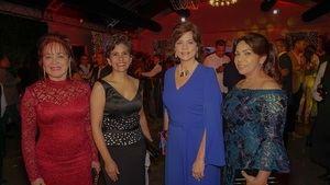 Nelly Mota, Rosanna Camarena, Nonora Elmúdesi y Milagros de Ortega.