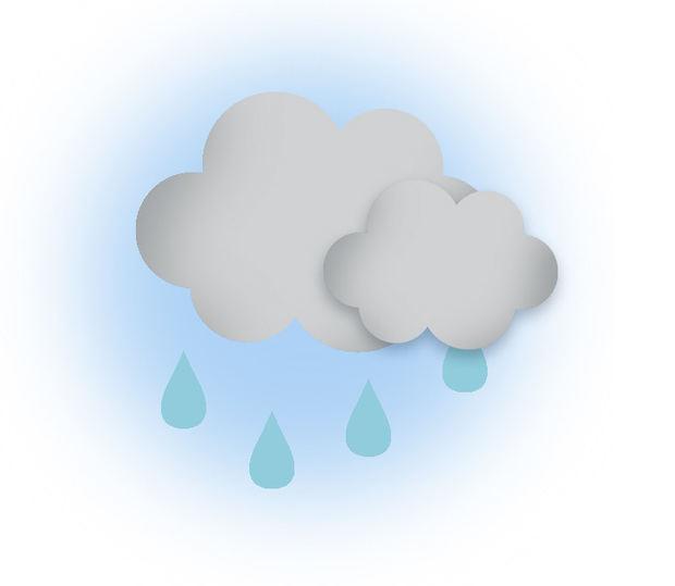 Escasas lluvias y sensación térmica elevada