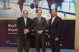 Eduardo Valcárcel, Fernando Prado y Fernando Martínez.
