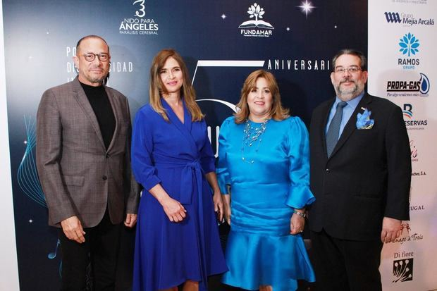 José Antonio Rodríguez , Monika Despradel, Jacqueline Herrera de Álvarez Guillermo Álvarez.