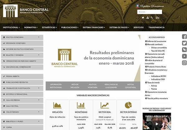 Banco Central renueva su página web para un mejor uso ciudadano