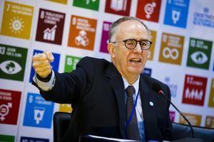 En la imagen, el representante regional de la Organización de las Naciones Unidas para la Alimentación y la Agricultura, FAO, para América Latina y el Caribe, Julio Berdegué.