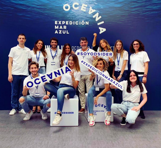 Expedición Oceanía - Mar Azul.