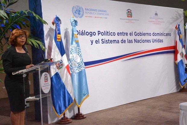 Gobierno dominicano y Sistema de Naciones Unidas realizan segundo diálogo político para agenda común