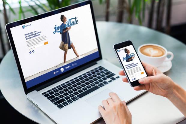 Impúlsate Popular es una plataforma que busca inspirar a los jóvenes y fomentar en ellos la cultura emprendedora.