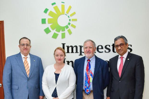 Organismo del Tesoro de EE.UU. resalta avances institucionales de la DGII