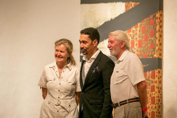 Celebran exposición de Oscar Abreu en Chavón