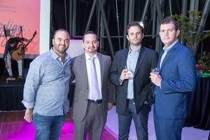 Giancarlos Beras Goico, Enmanuel Azar, Luis José Rodríguez y Miguel Pimentel
