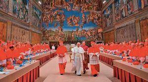Cónclave aniversario del Papa