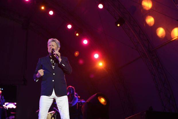 Memorable concierto de Peter Cetera en Anfiteatro de Puerto Plata