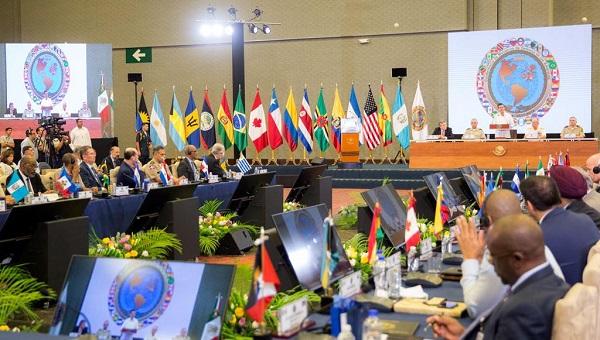 Celebran la XIII conferencia de Ministros de Defensa de las Américas