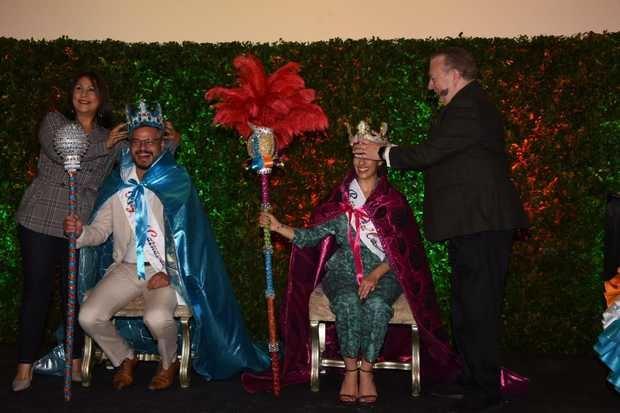Frank Perozo y Nashla Bogaert coronados como Reyes del Carnaval 2019.