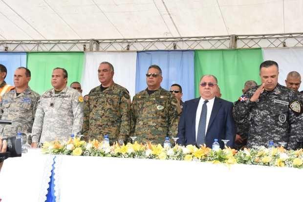 Miembros del Ejercito, Armada y Fuerza Aérea se unirán a policías en el operativo.