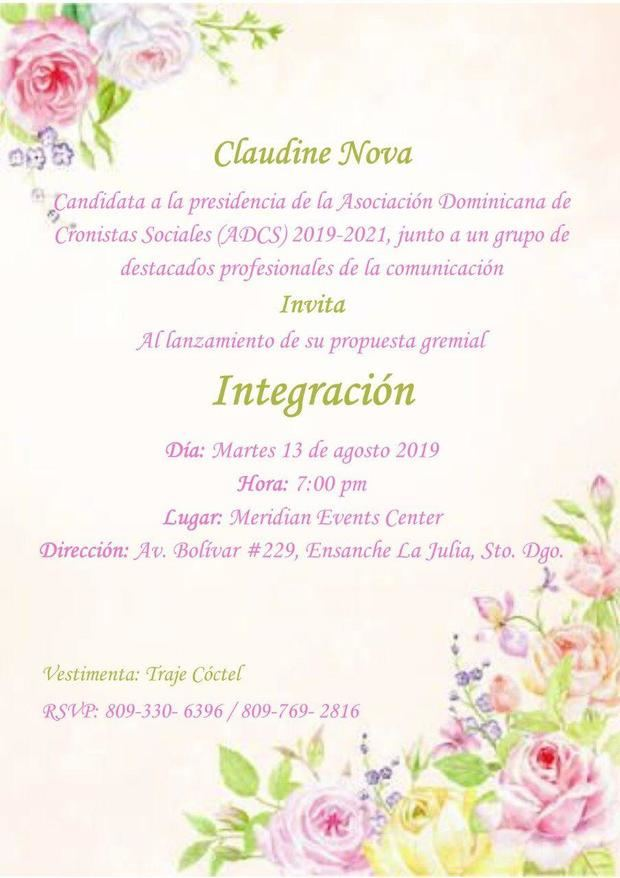 Invitacion