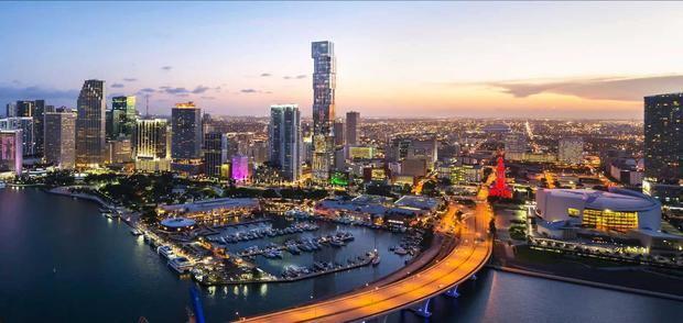 El Waldorf Astoria Residences Miami será el edificio más alto e icónico de esta ciudad