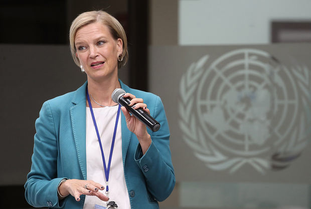 Representante en el país del Programa de las Naciones Unidas para el Desarrollo, PNUD, Inka Mattila.