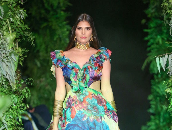 Giannina Azar presentó su propuesta en Dominicana Moda 2018