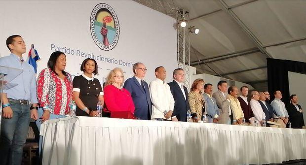 Comisión Política del Partido Revolucionario Dominicano, PRD.