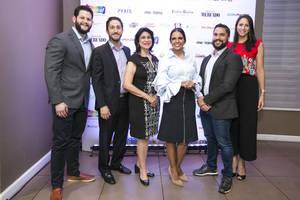 Hamid Yaryura, Ricardo Tirado, Amelia Reyes, Janis Santaella,Luis Mejía, Susana Kury