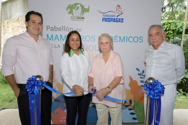 La Fundación Propagas y el ZOODOM inauguran Pabellón de Mamíferos Endémicos de La Española