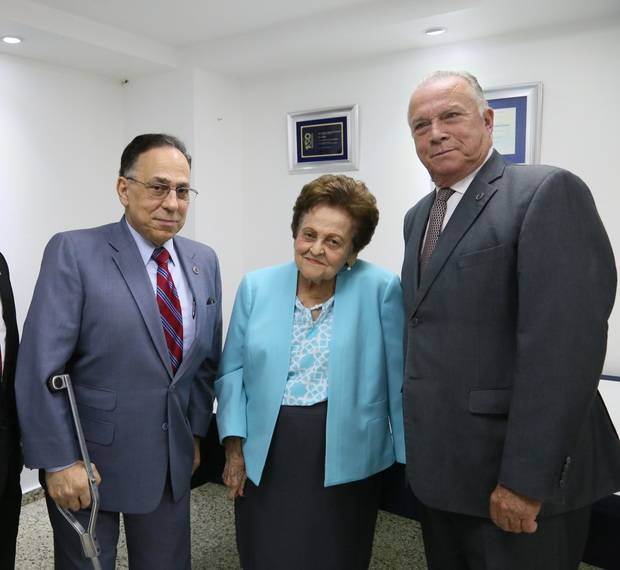 Celso Marranzini, Mary Pérez de Marranzini y Arturo Pérez