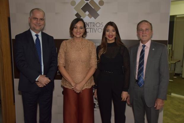 Alejandro Fernandez,. Lady Reyes, Gissel Castillo e Ignacio Mendez
